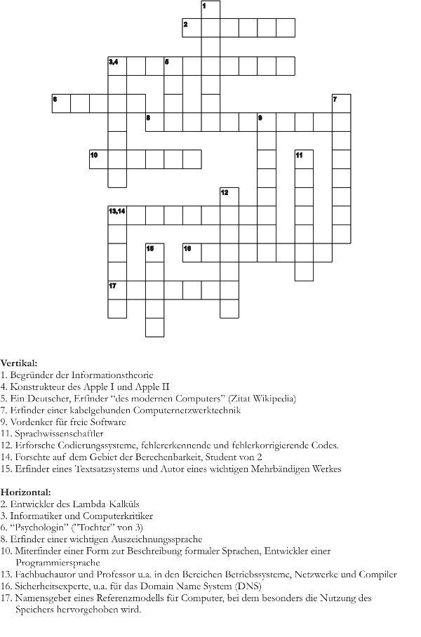 in der Nähe von Kreuzworträtsel Hinweis